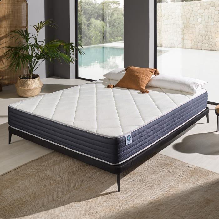 MATELAS Matelas 180x200 cm en mousse Blue latex®+  confort