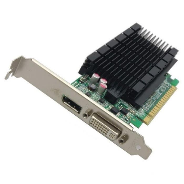 Carte Graphique Nvidia Cdiscount.Carte Graphique Nvidia Geforce 605 Dp S26361 D2422 V605 Pcie Dvi Displayport 1go