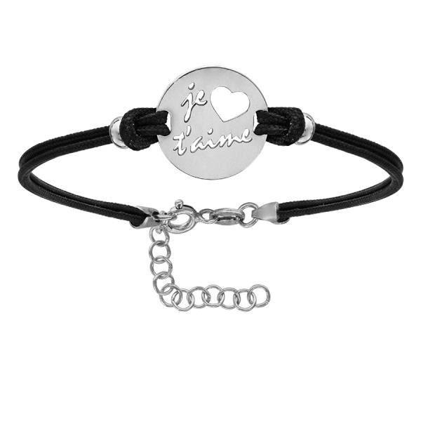 Bracelet femme - Pastille Je Taime - 028080