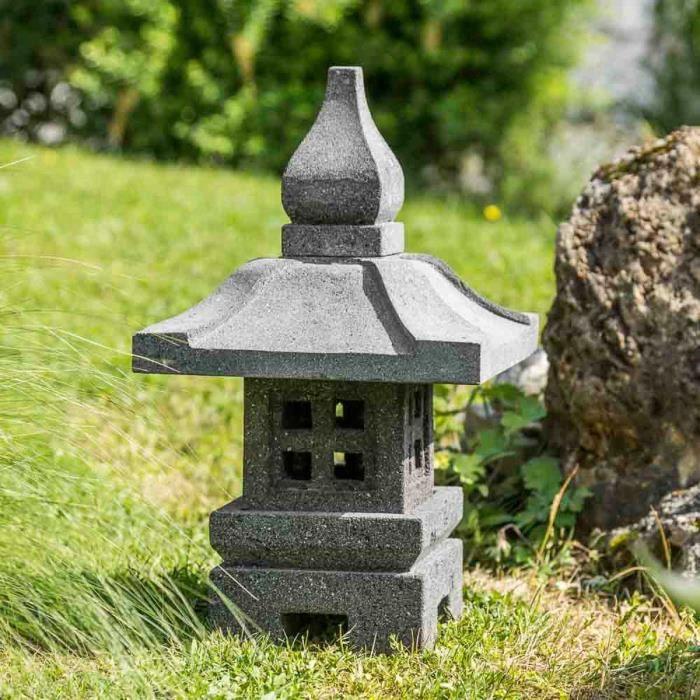 Deco jardin lanterne japonaise - Decoration japonaise pour jardin ...