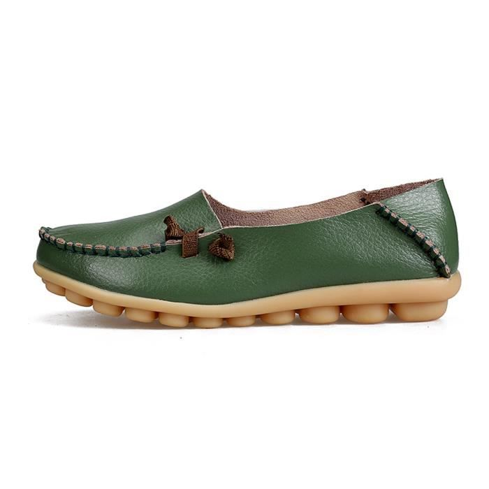 Comfort Walking Cute Flat Loafer AMGXF Taille-39