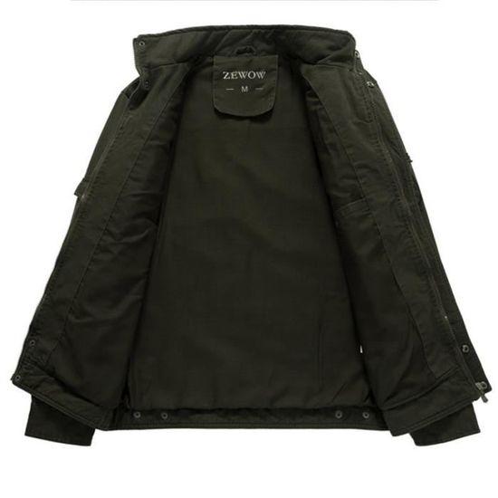 Vêtement Mode Rabattu Col De Hommes Blouson Printemps Veste 5gWzwXFFxq