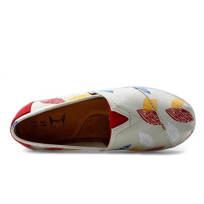 Chaussures Femmes Mode Detente Durable fond épais Chaussure YLG-XZ087Gris38 MV9D0I6
