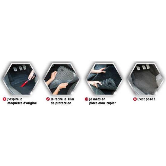 57f681806e32bf DBS Tapis sur Mesure Luxe pour Peugeot 3008 de 05 09 à 09 16 - Achat    Vente tapis de sol Tapis sur Mesure Luxe - Cdiscount