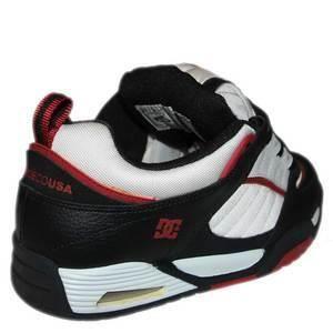 Baskets Homme Rare 2005 Vintage collector skateshoes DC SHOES SPECTRE Black T Red US9 42EU Sample Last worldwide ! Dernière au
