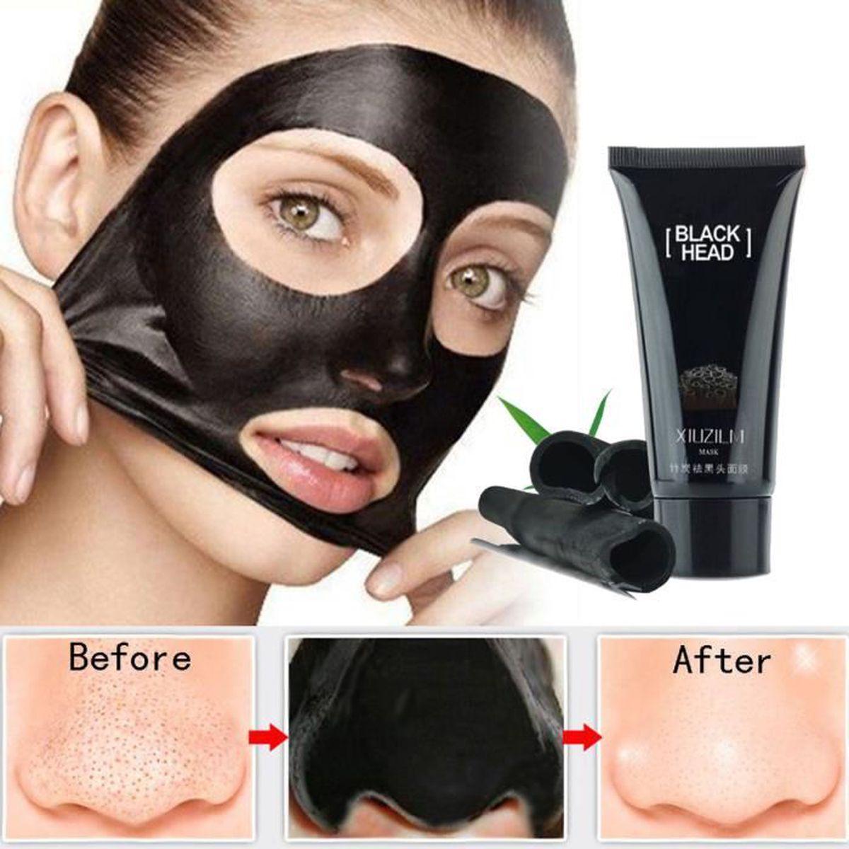 masque soin visage peau boue charbon collag ne anti pore nettoyage achat vente masque visage. Black Bedroom Furniture Sets. Home Design Ideas