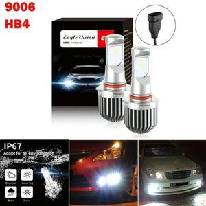 PHARES - OPTIQUES 2pcs 9006 HB4 phares LED Ampoules Feux de croiseme