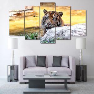 OBJET DÉCORATION MURALE HD Imprimé Affiche Peinture Toile Mur Art Photos 5