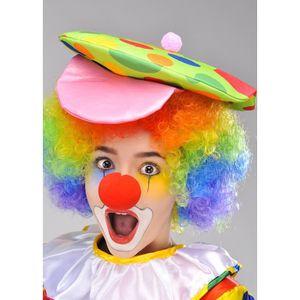 ACCESSOIRE DÉGUISEMENT Enfants taille brillant Clown boutonneuses Hat