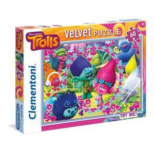 PUZZLE TROLLS Puzzle 60 pièces - 33 X 23 cm