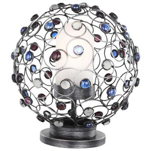 APPLIQUE EXTÉRIEURE Lampe de table espace extérieur luminaire boule éc
