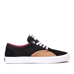 BASKET Chaussures SUPRA CHINO black gum white