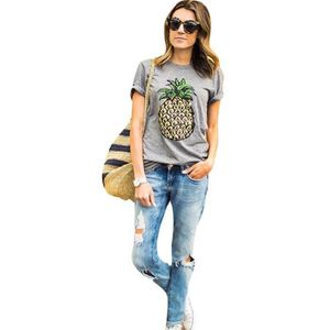 T-SHIRT Fitibest manches courtes T-shirt col rond Casual T