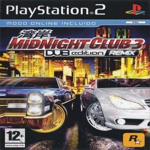 JEU PS2 MIDNIGHT CLUB 3 DUB EDITION REMIX (Uk Import) PS2