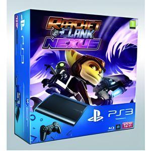 CONSOLE PS3 Pack console playstation 3 (12go) et ratchet et cl