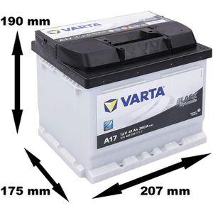 STATION DE DEMARRAGE Batterie de démarrage Varta Black Dynamic L1B A17