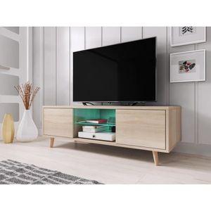 meuble tv sweden meuble tv style scandinave coloris chne so - Meubles Scandinaves