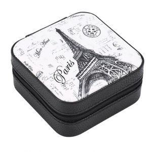 BOITE A BIJOUX Boîte à bijoux de voyage Mini Boîte à Bijoux PU Zi