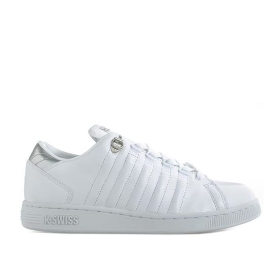 Baskets K-Swiss Lozan III TT Metallic pour homme en blanc. Blanc Blanc - Achat / Vente basket