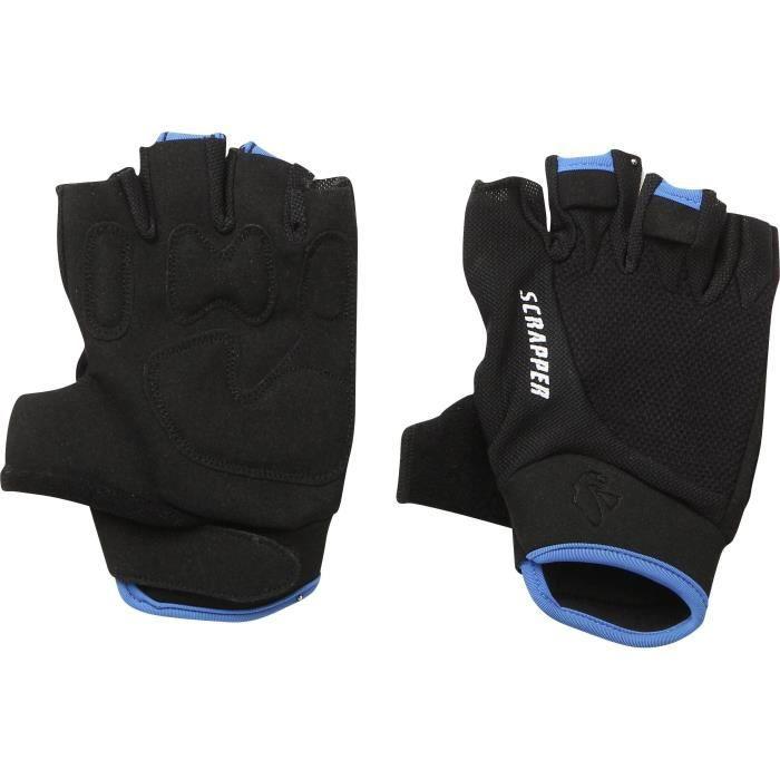 SCRAPPER Gants de vélo Scr Sport Mtb - Homme - Noir et bleu