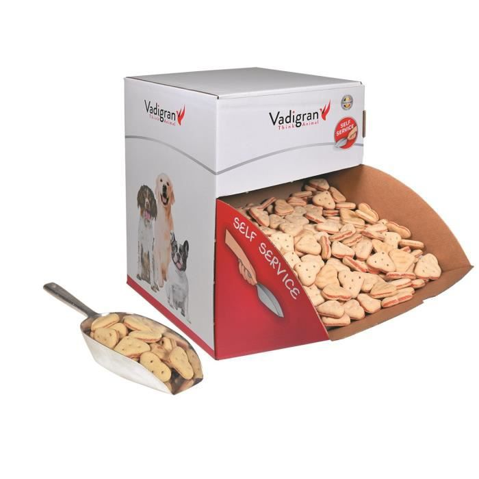 VADIGRAN Biscuits Duo Hearts - 10 kg - Pour chiens