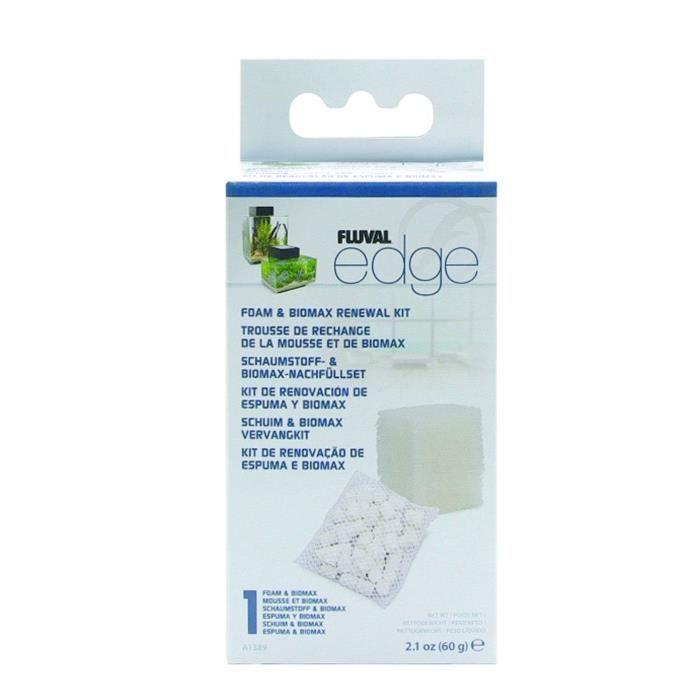 FLUVAL Recharge de mousse et de Biomax pour filtre Edge - 60 g