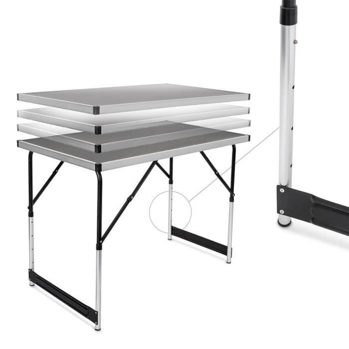 Table X Pliable 100 60 Camping Pliante Multifonction Cm Pratique 3A5LRjq4
