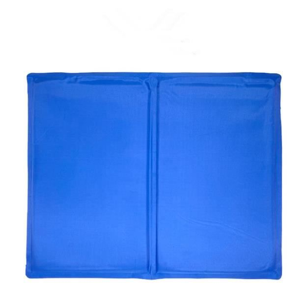 Tapis Matelas Rafraîchissant,coussin De Refroidissement Pour Chien Bleu 65*50cm