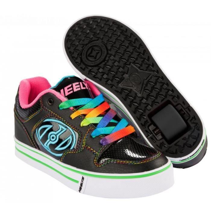 Heelys - Chaussures à roulettes Propel 2.0 - noir/arc-en-ciel LGsFl7j9c