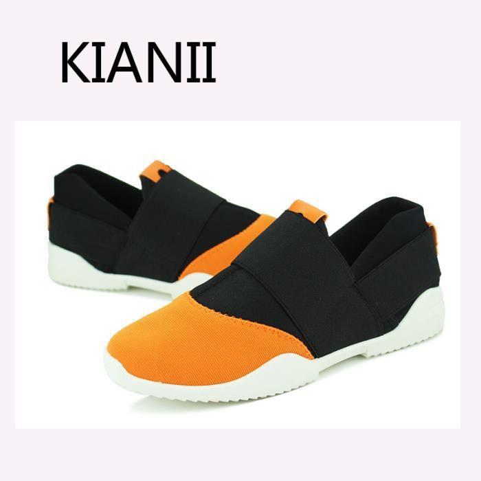 Baskets Homme Chaussures Tissu-2016 Orange zoNQZyFus