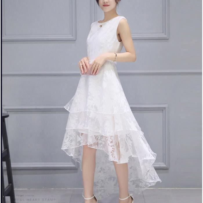 Robe mariee courte blanche