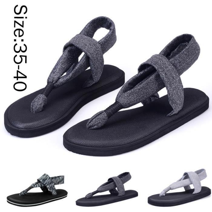 4 couleurs Chaussures de yoga en option Mode Sandales pour Femmes 82GL4rG4