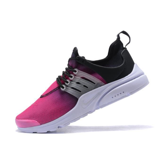 Nike Air Presto Femme Chaussure Noir De Running Noir Chaussure Rose NOIR Rose e65ffa