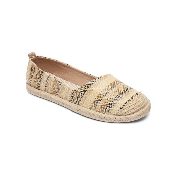 Roxy Slip Women Ii Memory On Textile Shoes Foam Flora rYAZqwr