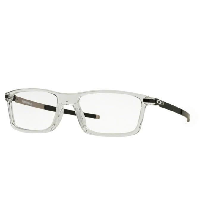f94e5c0ff2 Lunettes de vue pour homme OAKLEY Cristal OX 8050-02 PITCHMAN 53/18 ...