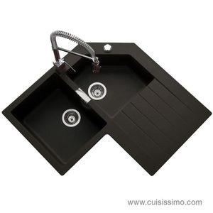 evier d angle achat vente evier d angle pas cher soldes d s le 10 janvier cdiscount. Black Bedroom Furniture Sets. Home Design Ideas