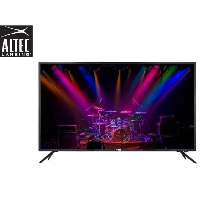 """TV LED 4K UHD SERIE SLIM 55"""" - 140 cm Mode Hôtel Altec Lansing_1"""