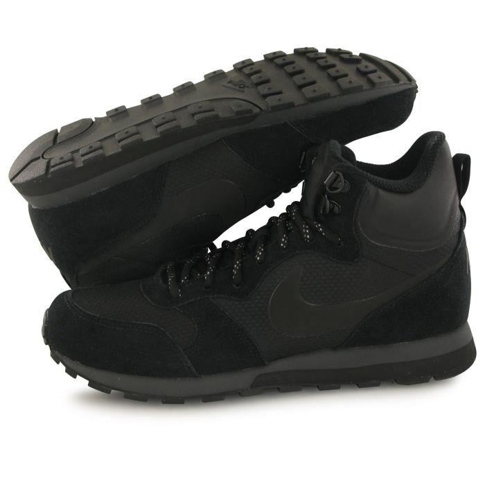 Nike Md Runner 2 Mid Premium noir, baskets mode homme