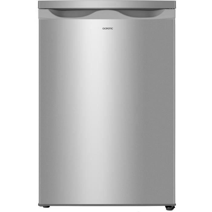 OCEANIC - Réfrigérateur Table top « Larder » 138L - Silver - classe A+
