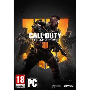 JEU PC Call of Duty Black OPS 4 Jeu PC