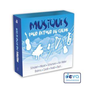 CD COMPTINES - ENFANTS MUSIQUES POUR RETOUR AU CALME 3 CD