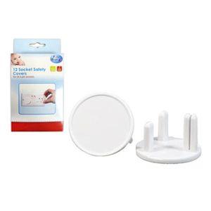 CACHE PRISE 12 Home Sécurité Plug-Protecteur Cache prises bébé