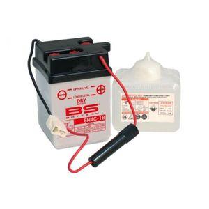 BATTERIE VÉHICULE Batterie BS BATTERY 6N4C-1B conventionnelle livrée