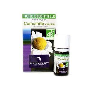 HUILE ESSENTIELLE Huile essentielle Bio Camomille Romaine 5 ml
