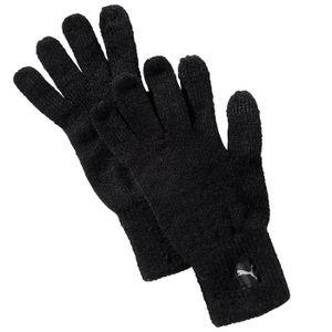 Homme L Gant Achat Taille Xl Puma Tactile Knit Noir Gants Rj35q4LA