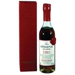 DIGESTIF EAU DE VIE Armagnac Dupeyron millésime 1975 Armagnac 20 cl -
