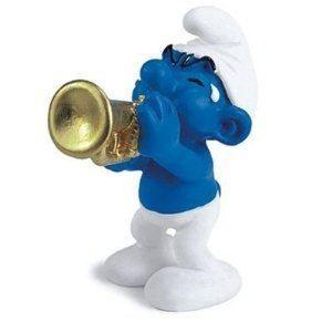 Figurine schtroumpf achat vente jeux et jouets pas chers - Schtroumpf musicien ...