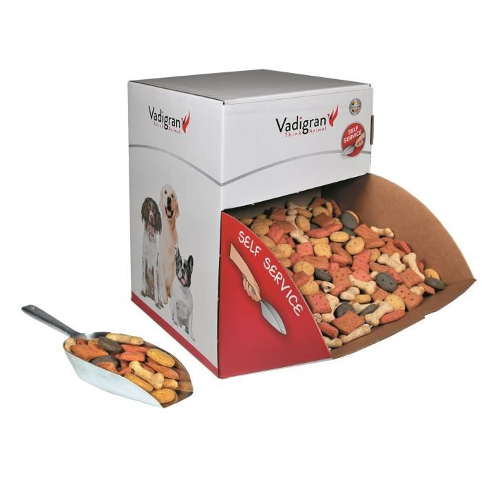 VADIGRAN Biscuits Multi Mix - 10 kg - Pour chiens
