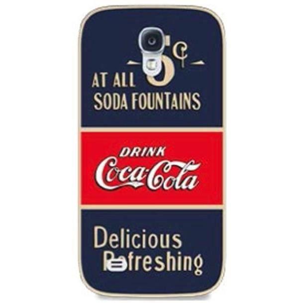 Coca-Cola Coque Old 5cents pour Samsung Galaxy S4