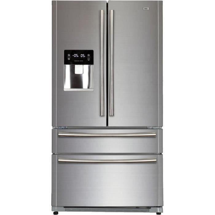 HAIER B22FSAA - Réfrigérateur multi-portes - 522L (387+135) - Froid ventilé - A+ - L 91cm x H 178cm